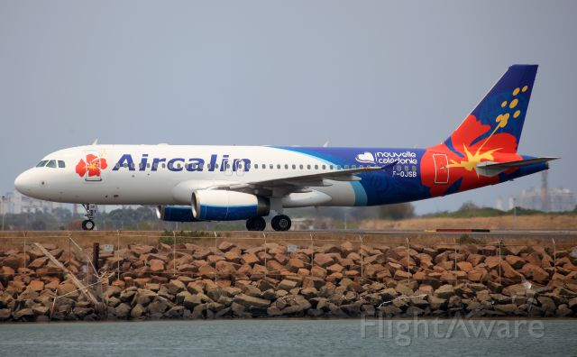 Airbus A320 (F-OJSB) - Arriving Rwy 34L