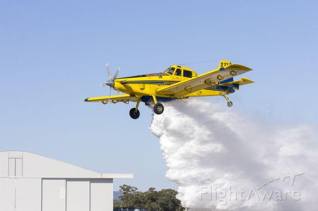 AIR TRACTOR Fire Boss (VH-XAW) - Kennedy Air (VH-XAW) Air Tractor AT-802, Bomber 277, maintenance run.