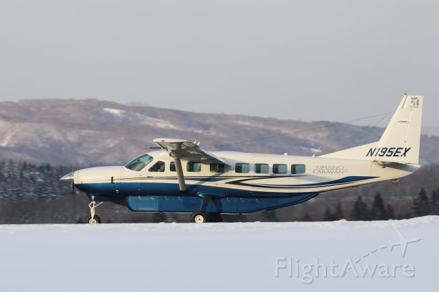 Cessna Caravan (N195EX) - 07 January 2016 : Cessna Aircraft Corporation, Cessna 208B Grand Caravan.