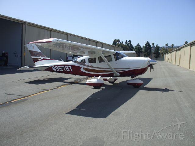 Cessna 206 Stationair (N957BT) - Hangared at KTOA