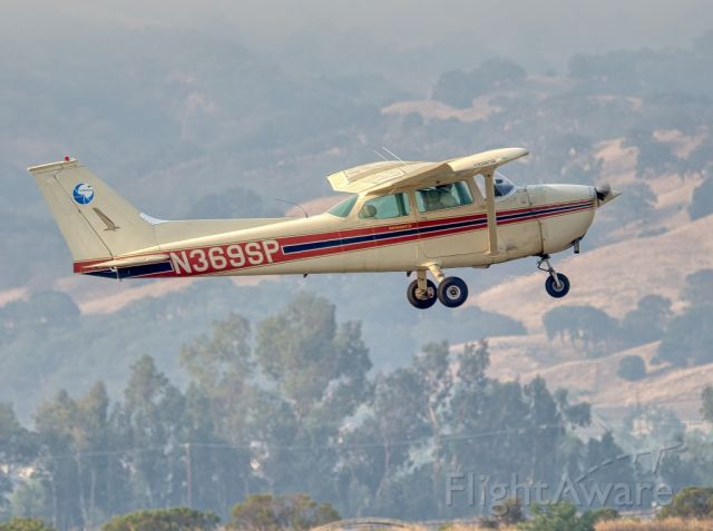 N369SP — - Cessna 172M departing Livermore Municipal Airport, Livermore CA. August 2020