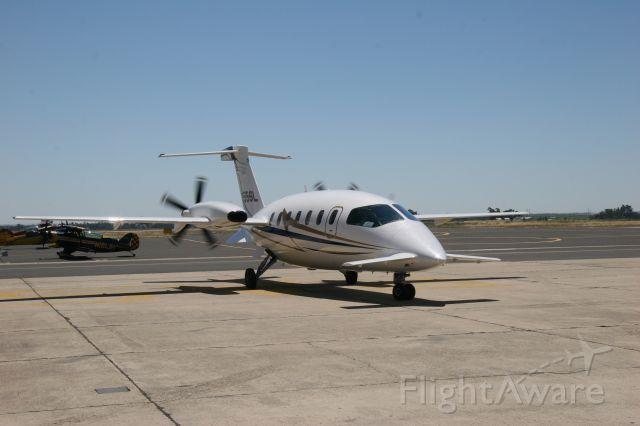 Piaggio P.180 Avanti (N155SL) - Paso Robles, CA aerobatic show