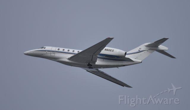 Cessna Citation X (N60ES) - Departing LAX