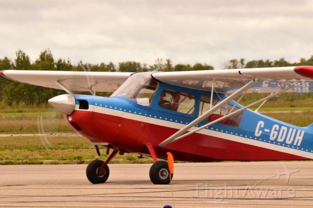 C-GDUH — - Colorful paint on this Bellanca aircraft