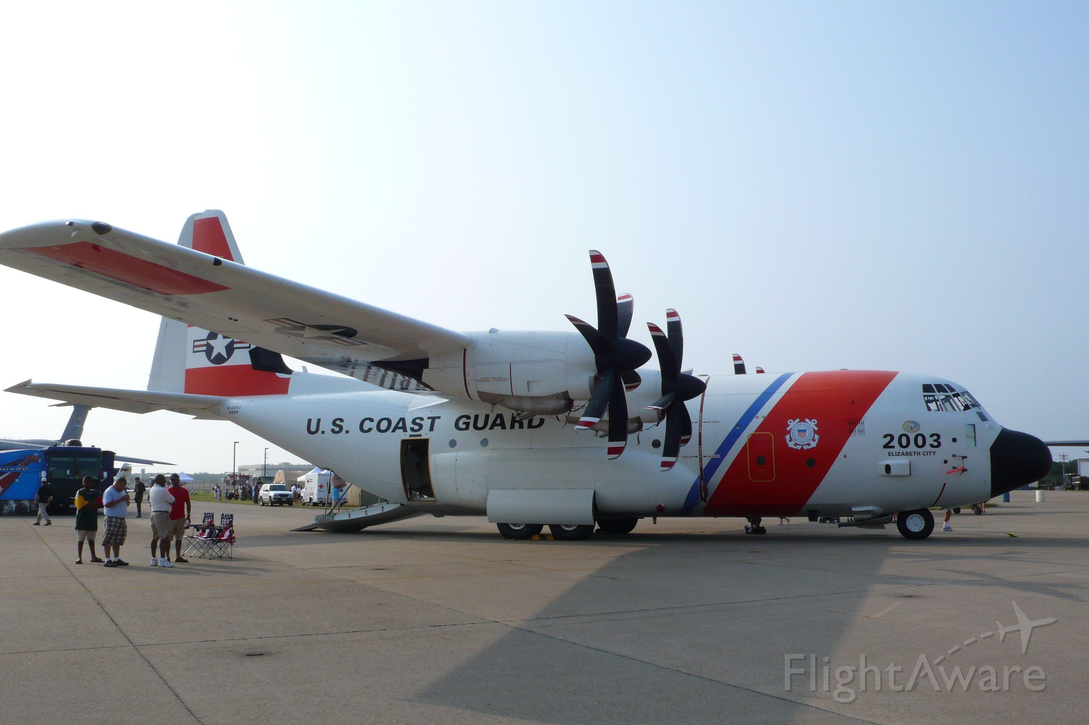 Lockheed C-130 Hercules — - 2007 OTIS Air Show, US Coast Guards C-130J