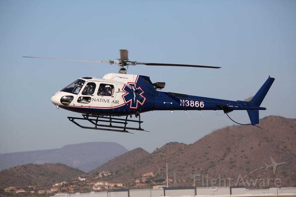 Eurocopter AS-350 AStar (N3866)
