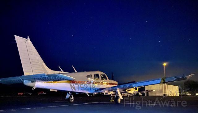 Piper Cherokee Arrow (N75278) - Got a sick night shot!