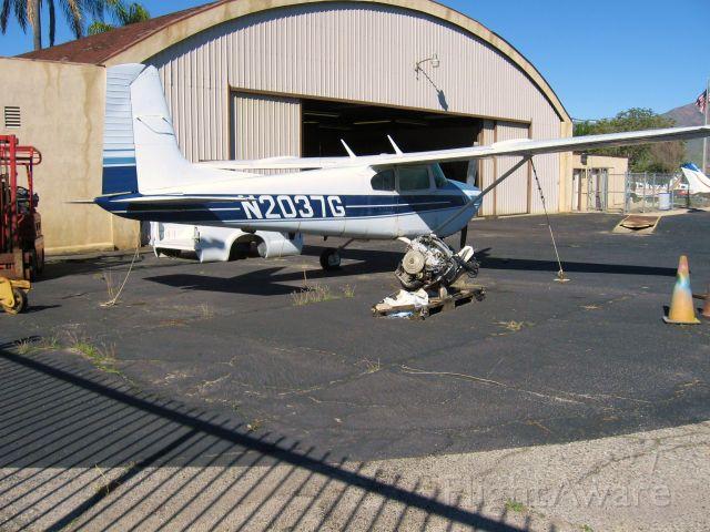 Cessna Skylane (N2037G) - At redlands Muni