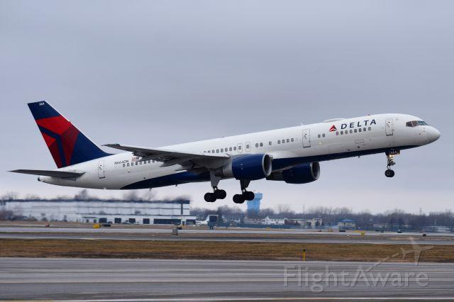Boeing 757-200 (N664DN) - Buffalo Sabres heading to Colorado, utilizing a Delta Air Lines VIP configured Boeing 757-200 ...