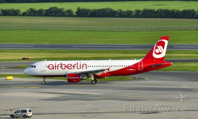 Airbus A320 (D-ABDO) - Air Berlin Airbus A320-214 D-ABDO in Vienna