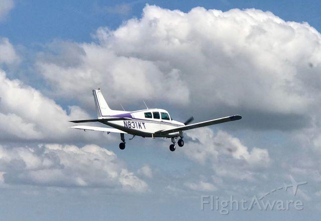 N831KT — - Taken from Bonanza Chase Plane N36LM