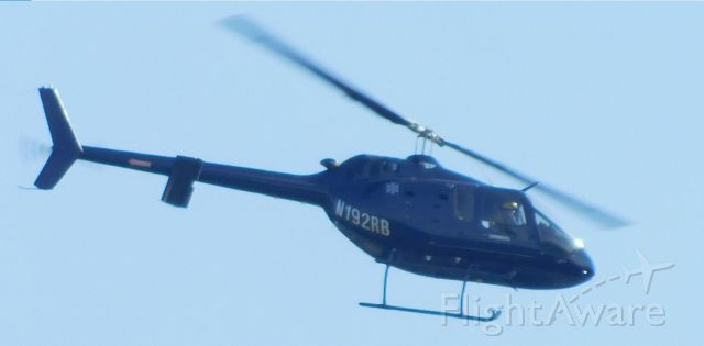 Bell 505 (N192RB) - N192RB over Corvallis 29 September 2020.