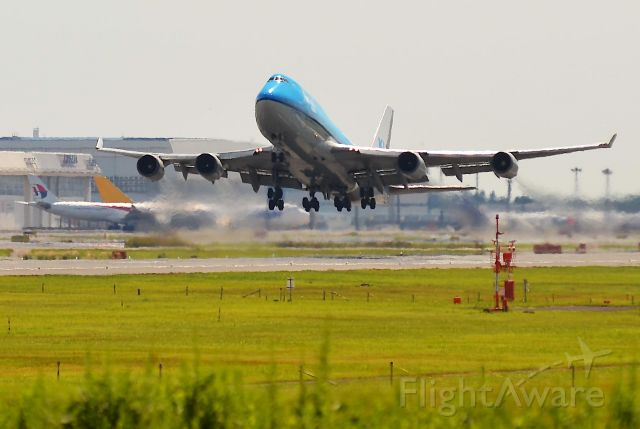 Boeing 747-400 (PH-BFM) - I take a picture on Sep 30, 2015.