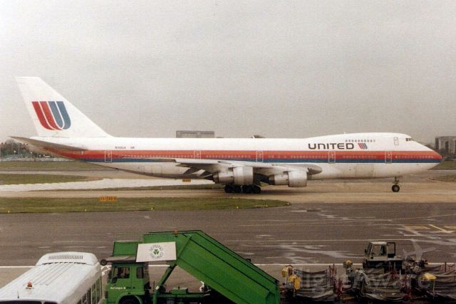 Boeing 747-200 (N159UA) - Seen here in Apr-92.  With United from Jan-91 to Jun-01.  Broken up at KROW.