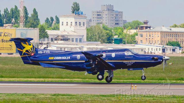 Pilatus PC-12 (HB-FVD)