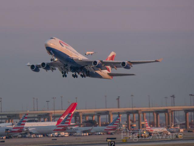 Boeing 747-200 (G-BYGE)