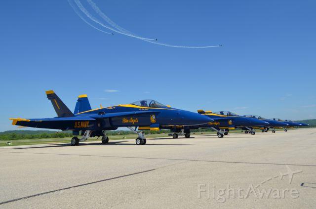 McDonnell Douglas FA-18 Hornet — - Deke Slayton Airfest, June 2014.