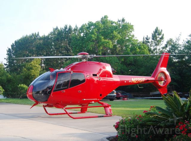 HARBIN HC-120 (N27GT) - The new N27GT arriving home may 23, 2014 to FD76 in sunny Jacksonville Florida. (Eurocopter EC120B / SN: 1376)
