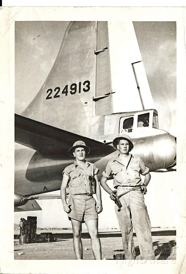 Boeing B-29 Superfortress — - Images from my father in law, Aircraft Commander Ben Nicks, who fle B-29