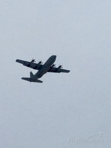 Lockheed C-130 Hercules — - First c130 out of two number 609 carbon takeoff from KROC