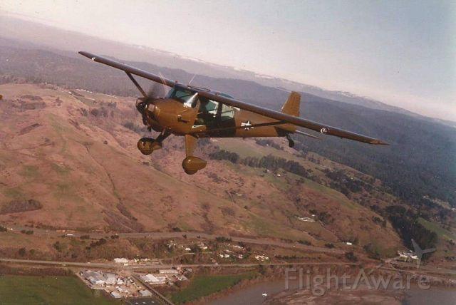 N1822B — - Flying over Ferndale Bottoms circa February, 1979