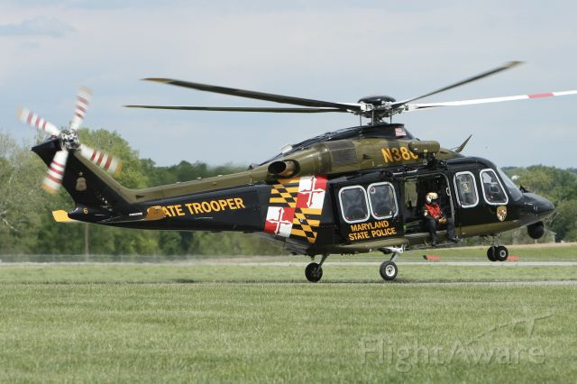 BELL-AGUSTA AB-139 (N386MD) - Departed Frederick base