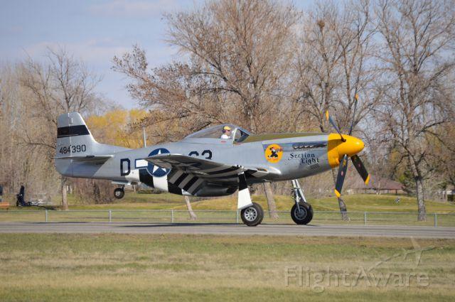 North American P-51 Mustang (N2869D)