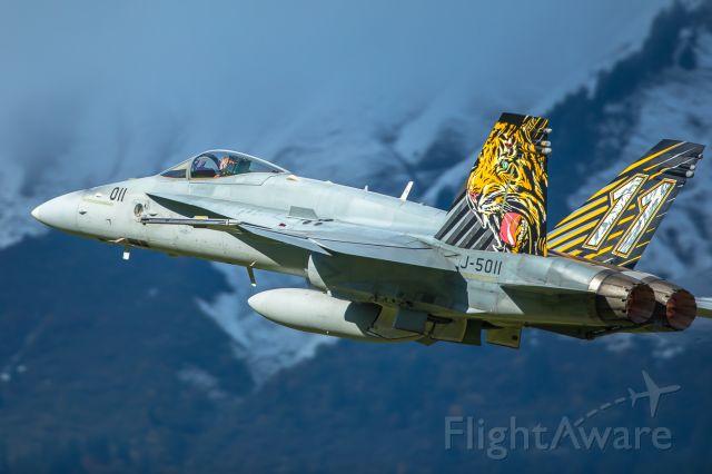 McDonnell Douglas FA-18 Hornet (J5011) - Swiss Air Force F/A-18C Hornet