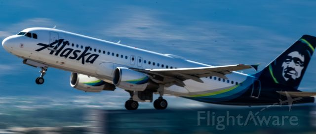 Airbus A320 — - Departing RWY 7L