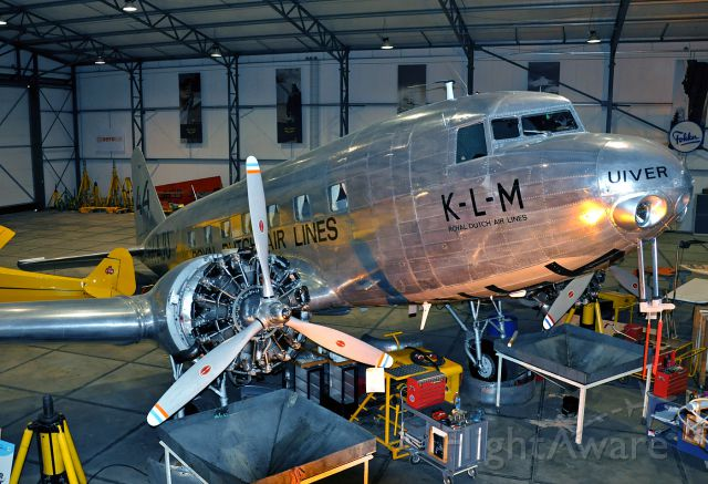 Douglas DC-2 (PH-AJU) - On display at the Aviodrome Museum.