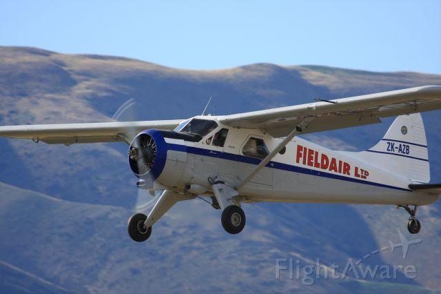 De Havilland Canada DHC-2 Mk1 Beaver (ZK-AZB) - DeHavilland Beaver crop duster