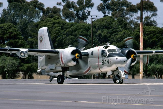 VH-NVX — - RAN FLEET AIR ARM HISTORIC FLIGHT - GRUMMAN 2-2G TRACKER (G-121) - REG : VH-NVX / 844/N12-152333 (CN 220C) - EDINBURGH RAAF BASE ADELAIDE SA. AUSTRALIA - YPED 11/11/1995