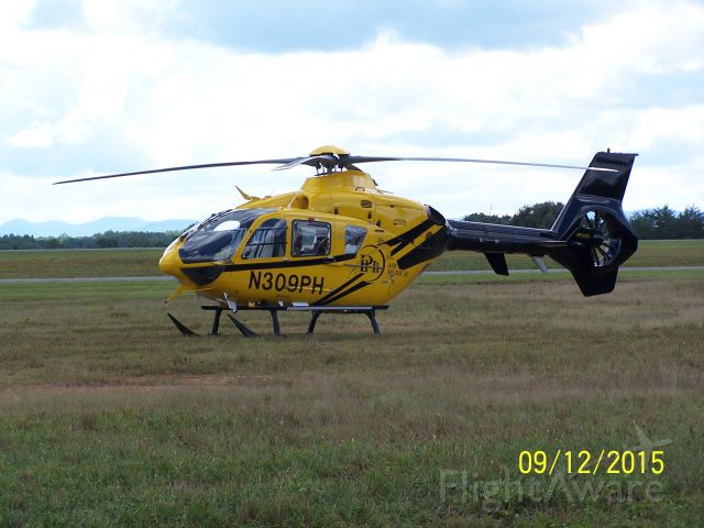 Eurocopter EC-635 (N309PH) - Photo taken at the Scott County, Oneida Tennessee Airshow.