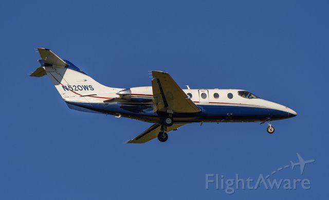 Beechcraft Beechjet (N520WS) - Arriving rwy 2L @KDPA.