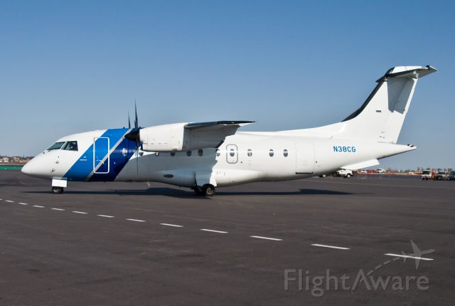 Fairchild Dornier 328 (N38CG) - Corning Glass Dornier 328 @ KBOS Logan Airport !