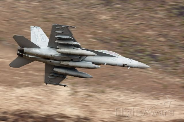 McDonnell Douglas FA-18 Hornet — - F-18 in the star wars canyon jedi transition in Death Valley, CA 10/2015.