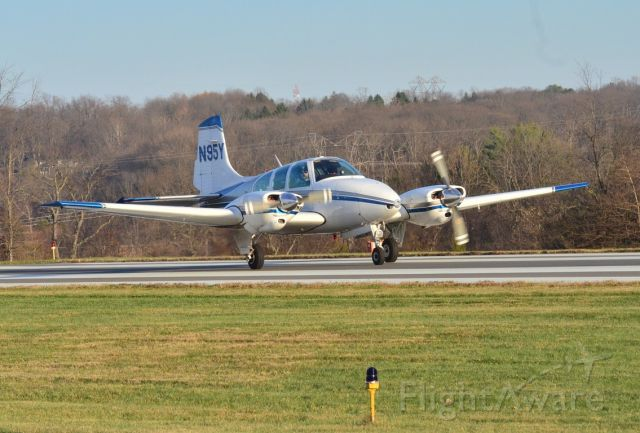 N95Y — - A Beechcraft D95a taking off at Sky Manor Airport!