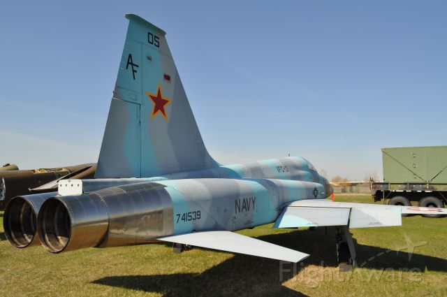 74-1539 — - Northrop F-5E,