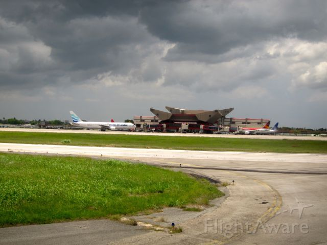 — — - Jose Marti international airport, Havana, Cuba