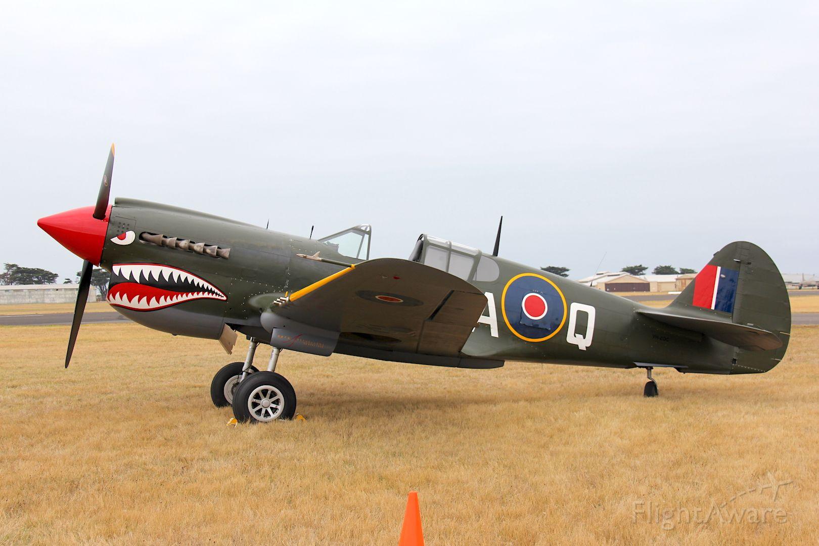 VH-ZOC — - Curtiss P-40N Warhawk<br />Manufactured in 1943, USA<br />Photo: 01.03.2014