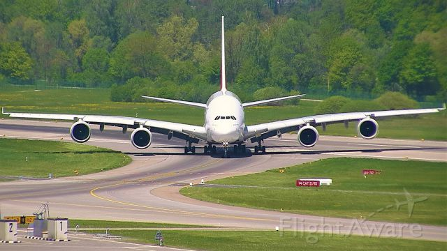 Airbus A380-800 (A6-EOT) - Arriving from Dubai