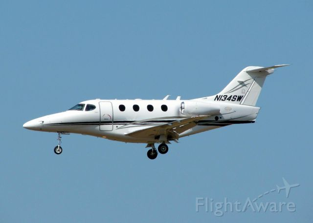 Beechcraft Premier 1 (N134SW) - Landing at Shreveport Regional. Pilot, thank you for your comments on the photo!