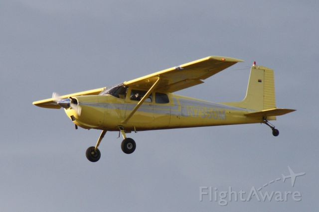 Cessna 175 Skylark (N7350M) - Landing at Flagstaff Pulliam Airport, September 21 2018.