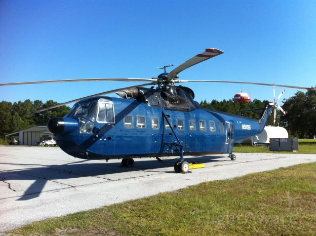 N9119S — - Standing by in St. Marys Georgia for a heavy lift.