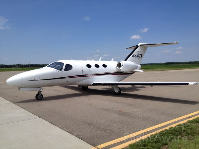 Cessna Citation Mustang (N510TW) - Great little jet.