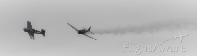 Mitsubishi A6M Zero — - WW2 Pacific dogfight between US Navy fighter and Japanese A6-M Zero.br /br /br /Reenactment.