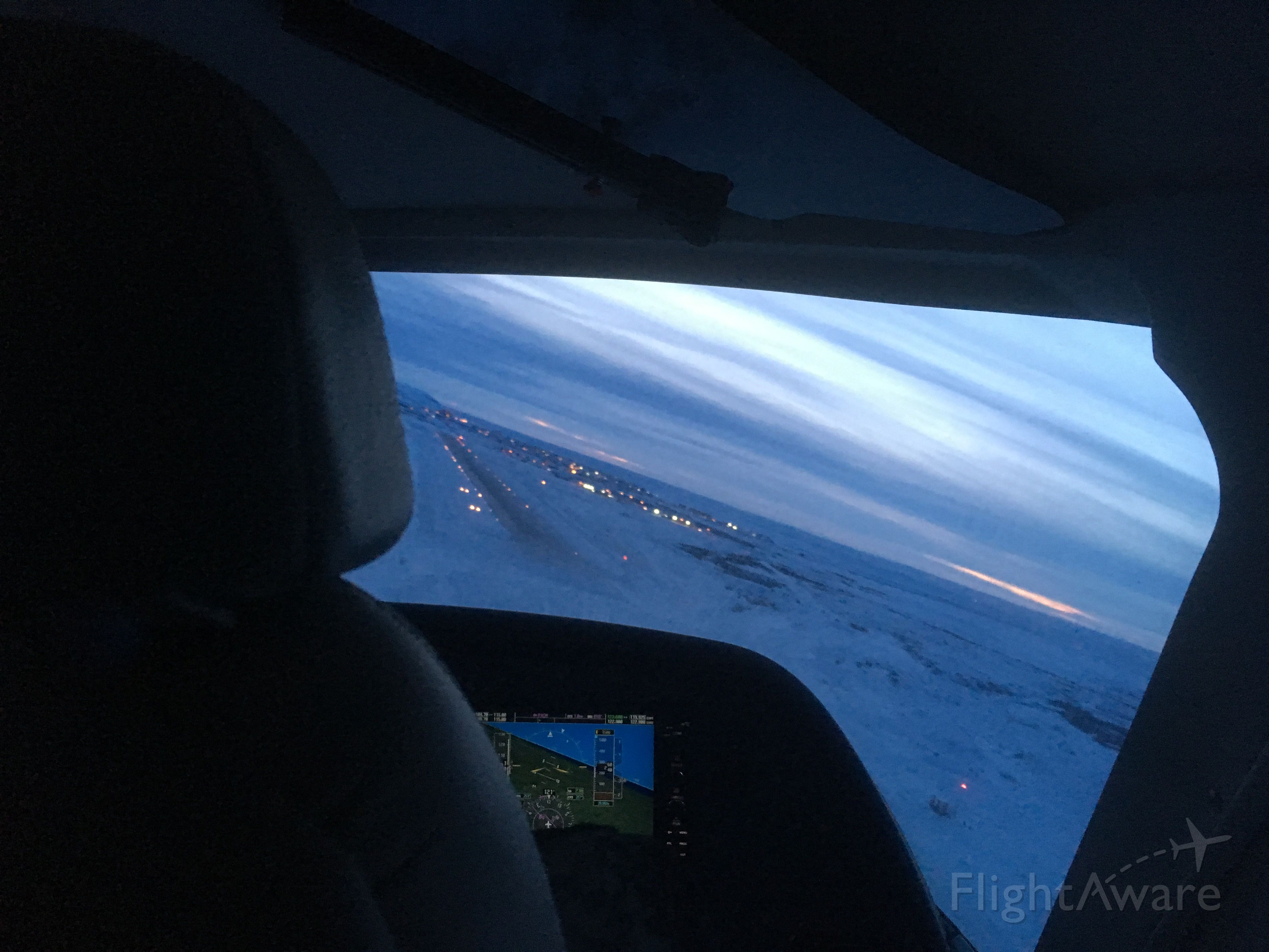Cessna Caravan — - Turning final into Nome