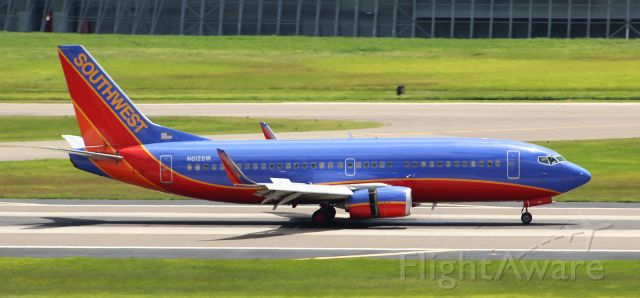 BOEING 737-300 (N612SW) - Southwest 456 landing in Tampa from Birmingham. Nice 737-300 with winglets.