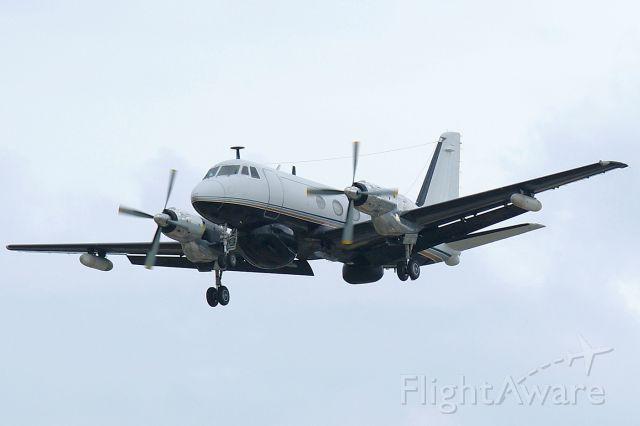Grumman Gulfstream 1 (N171PA) - 30L approach a rel=nofollow href=http://phoenixair.com/milops_elewarfare.htmlhttp://phoenixair.com/milops_elewarfare.html/a