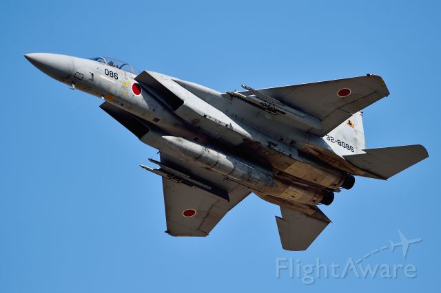 McDonnell Douglas F-15 Eagle (32-8086) - Nyutabaru Air Base JASDF(航空自衛隊 新田原基地 第5航空団)